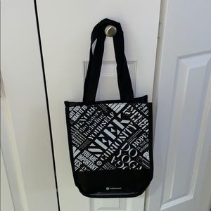 Lululemon Black Bag - New